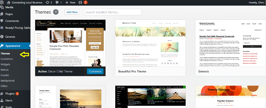 Tips for Choosing the Right WordPress Theme for Your Small Business