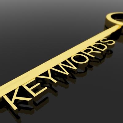 Key With Keywords Text by Stuart Miles and freedigitalphotos.net