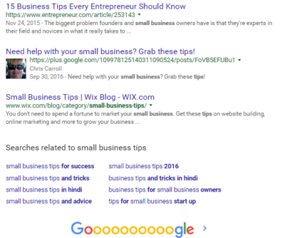 How Google Helps Your Website SEO - google releated searches