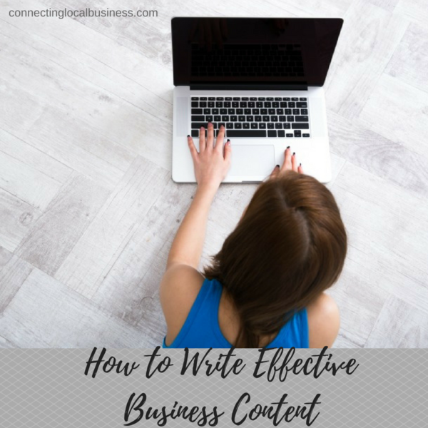 How to Write Effective Business Content